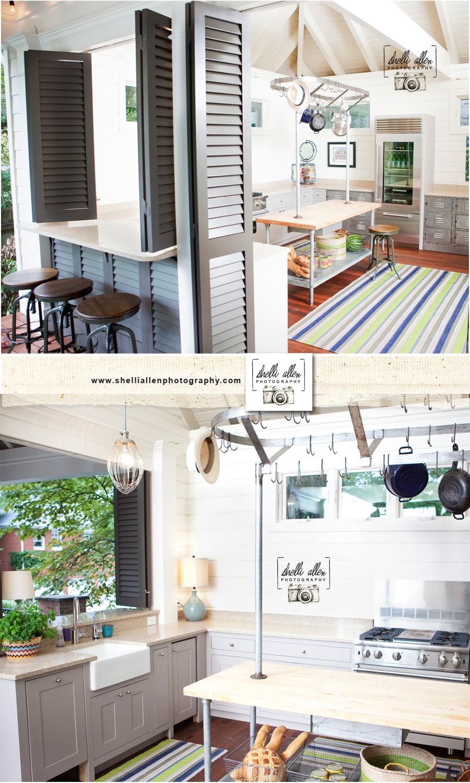 Alton Brown Pool House: Boxtree Designs, Shelli Allen Photography