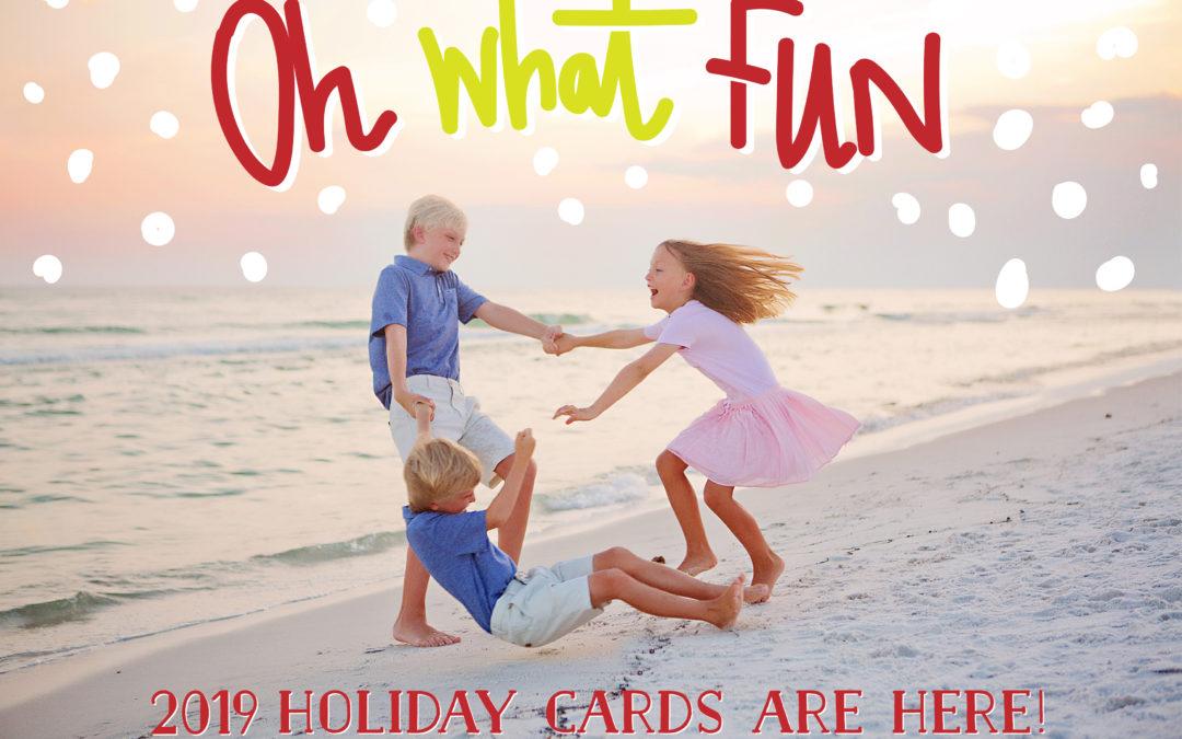 2019 Holiday Card Designs